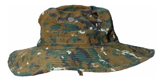 Sombrero Bonie Militar Camuflado Ala No Filtro U.v. Moda