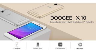 Celular, Doogee X10, Doble Sim Car, Negro, Nuevo,