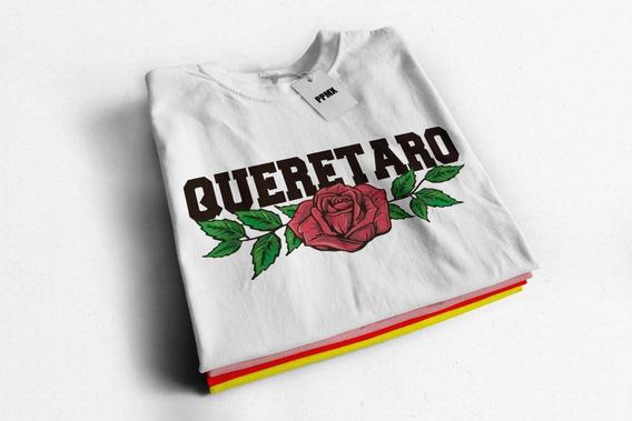 Playera De Moda Niña Y Dama Queretaro Lover