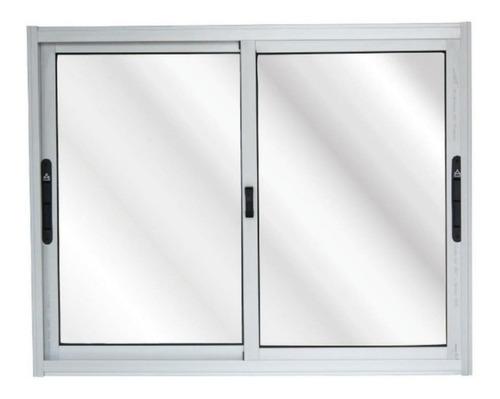 Imagen 1 de 3 de Ventana Aluminio 1x80 Serie 20