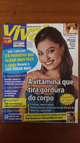 Revista Viva! Edição 516 2009 Juliana Paes