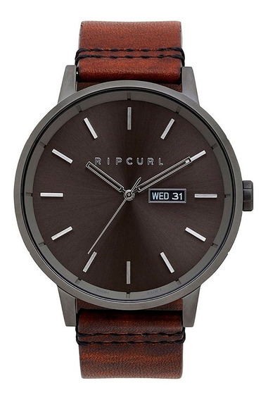 Relógio Rip Curl Masculino Detroit Leather A3084 36