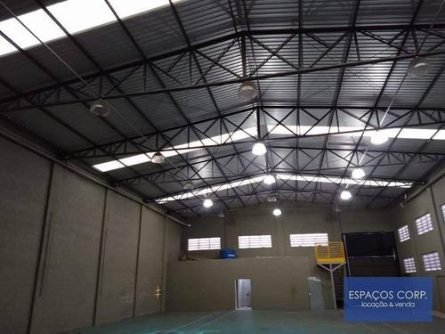 Galpão Para Alugar, 748m² Por R$ 10.000/mês - Centro Empresarial Castelo Branco - Boituva/sp - Ga0052