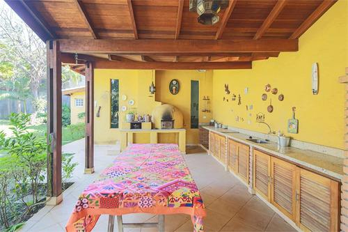 Imagem 1 de 30 de Casa 3 Suítes Com Jardim E Muito Terreno Na Chácara Monte Alegre. - Reo329721