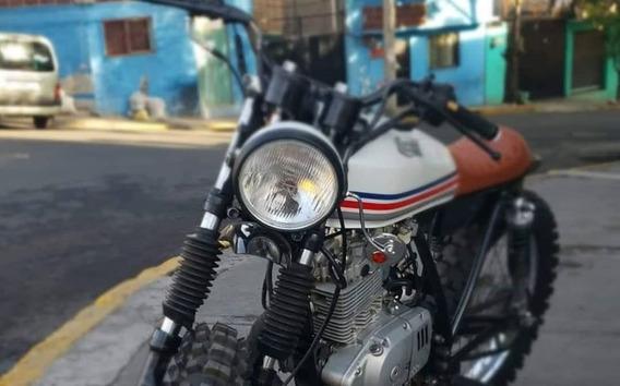 Suzuki 125 Scrambler/cafe Racer