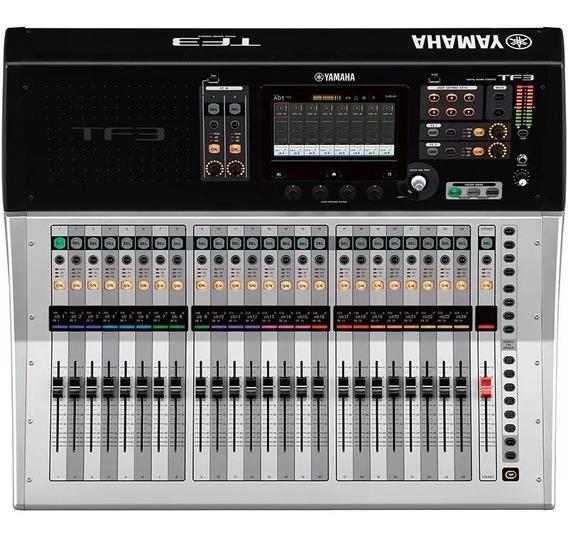 Mesa De Som Digital Yamaha Tf3 24 Canais Usb C/ Efeito