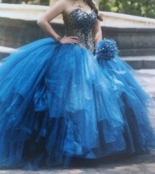 Vestido De Xv Años Azul