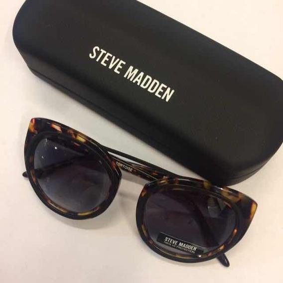 Gafas Steve Madden Jazzi Tortoise Estilo Cat-eye 100%origen