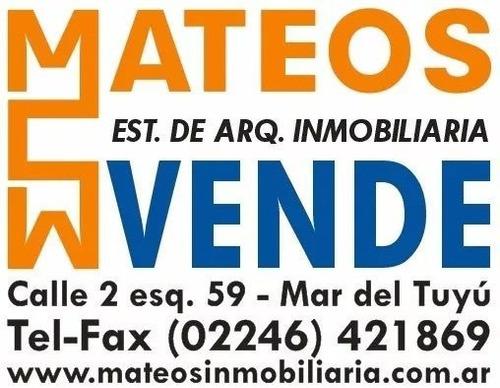 Venta De Lote Terreno - Mar Del Tuyu Calle 64 E/ 12 Y 13