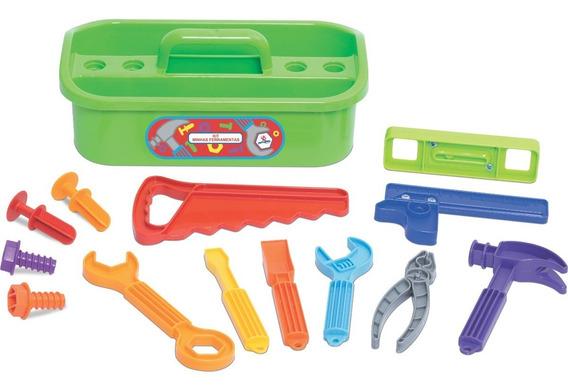 Kit Ferramenta Infantil Brinquedo Maleta Minhas Ferramentas
