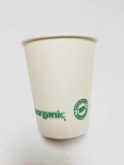 Vaso Para Cafe Bamboorganic Biodegradable 16 Oz