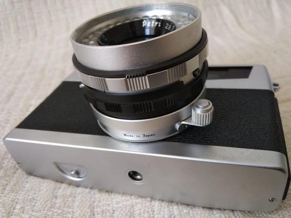 Camera Antiga De Filme Vintage Petri 7s