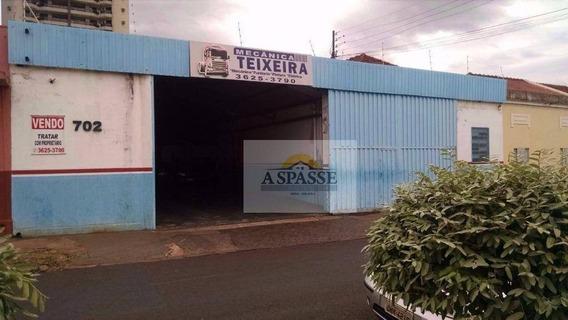 Salão Comercial À Venda, Campos Elíseos, Ribeirão Preto. - Sl0020