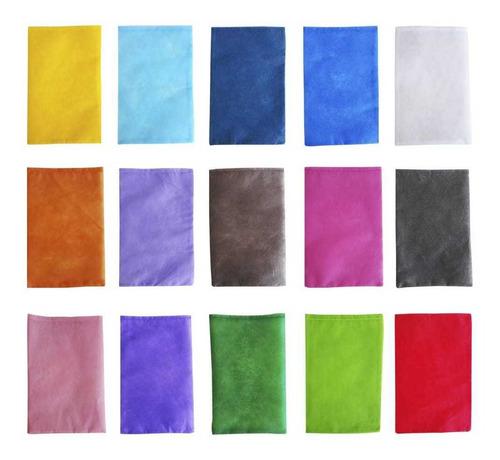 Imagem 1 de 1 de 50 Saquinhos Sacolinhas Tnt 12x15 Cores Sem Fita