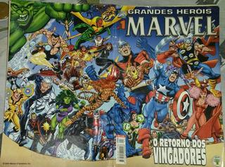 Hq Antigo Grande Heróis Marvel Nr 1