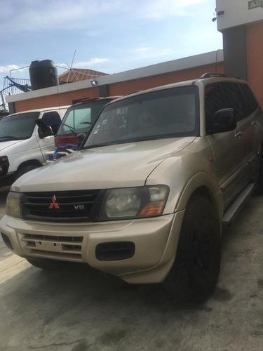 Mitsubishi Montero Cara De Gato
