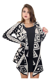 Malha Feminina De Tricot Lã Blusa Quimono Cardigan Ref 110