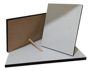 Retablos Para Fotografía 25cm X 25cm Autoadhesivo En Mdf