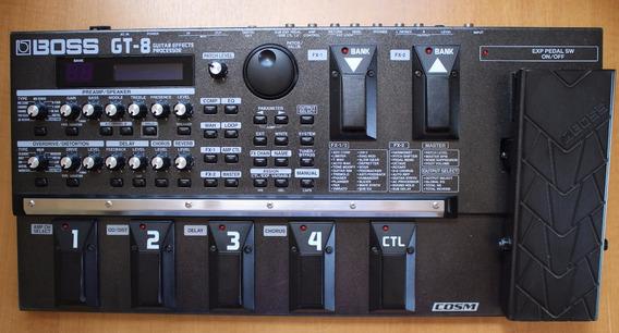 Pedaleira Boss Gt-8 Com Hard Ccase