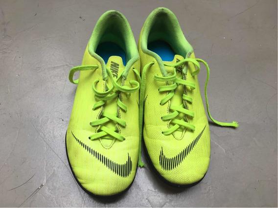 Botines Nike Mercurial Niño Talle 33 / 1.5 Usa Usados