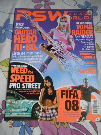 Revista Psworld Playstation - Ed. 44 - Tomb Raider - Fifa