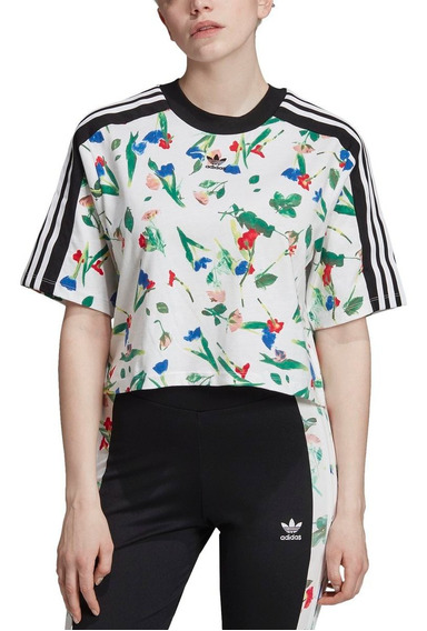 Remera Cropped adidas Originals Tienda Oficial