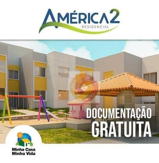 Apartamento Com 2 Dormitórios À Venda, 48 M² Por R$ 131.250 - Estados - Fazenda Rio Grande/pr - Ap0189