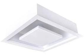 5 X Spot Plafon Embutir Luz Indireta 30x30