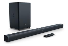 Soundbar Jbl 2.1 Original Tv 4k Smart 100 W Rms De Potência