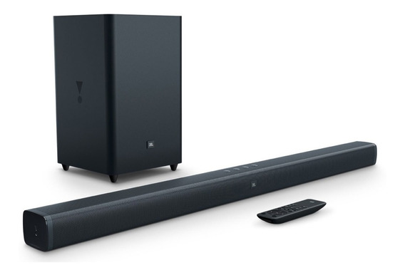 Soundbar Jbl 2.1 Original Tv 4k Smart 100 W Rms De Potência