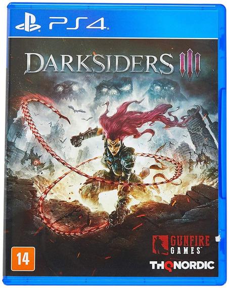 Darksiders Iii Ps4 Mídia Física Novo Lacrado Original