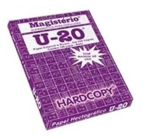 Decalque Para Tatuagem Papel Hectografico 100 Folhas U-20