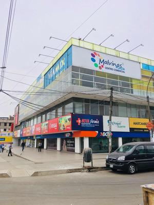 Local Comercial En Esquina 1er Piso Cc. Malvinas Plaza