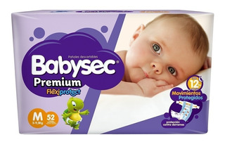 Pañales Babysec Premium Hiperpack En Todos Los Talles