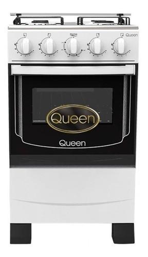 Imagen 1 de 3 de Cocina Queen Cq 200 4 Hornallas A Gas Megastore Virtual