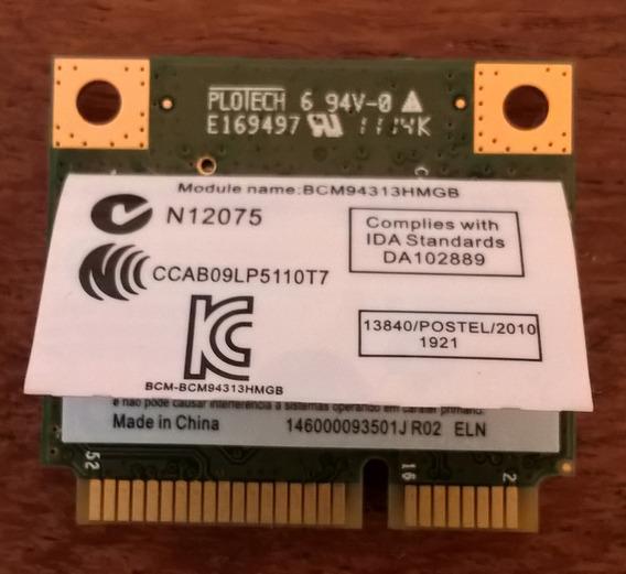Placa Wifi Mini Pci-e Broadcom Bcm94313hmgb + Bluetooth