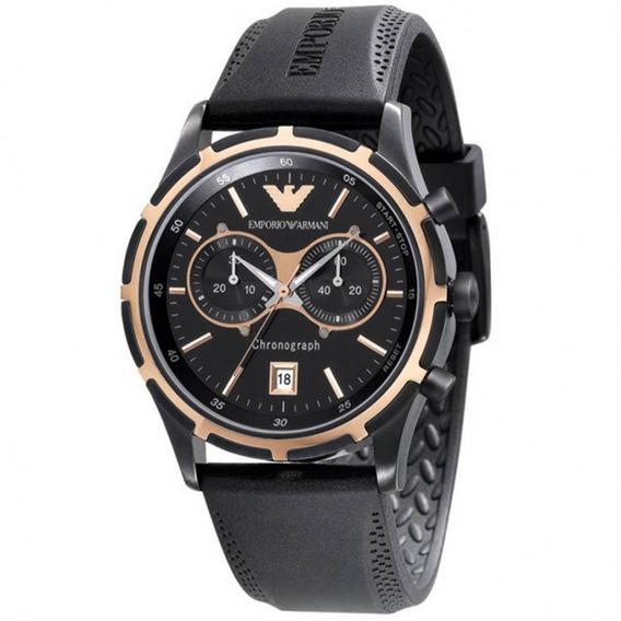 Relógio Empório Armani Ar0584 - Original Com Certificado