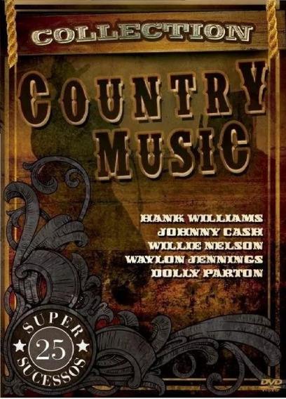 Dvd Country Music Collection - 25 Super Sucessos - Lacrado