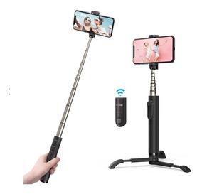 Pau De Selfie Tripé Blitzwolf Bw-bs9 Controle Bluetooth Mini