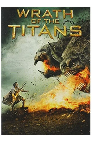 Wrath Of The Titans Steelbook - Bluray