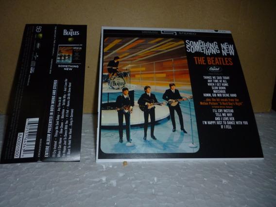 Cd Beatles - Something New 2014 - Tipo Minivinil Nacional