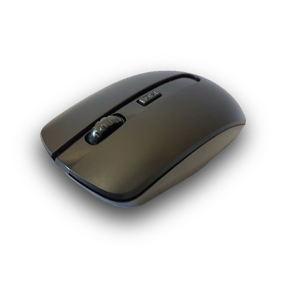 Mouse Wireless S/fios 1200 Dpi 4 Botoes 2.4 Ghz