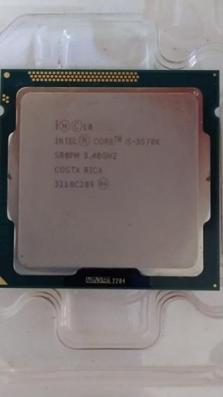 Processador I5 3570k Lga 1155 4 Núcleos 3.4ghz 6mb Cache