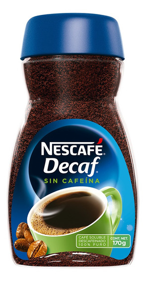 Cafe Nescafe Decaf 170gr (1 Pieza)