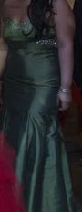 Liquido Vestido Corte Sirena!