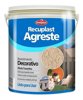 Recuplast Agreste Revestimiento Blanco 30kg Pinxel