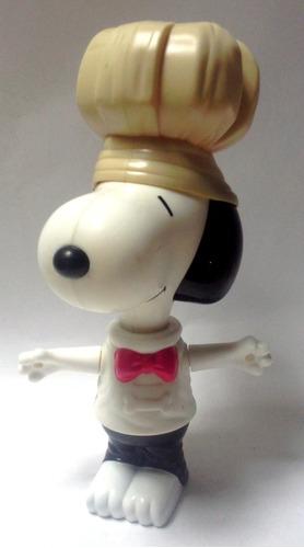 Juguete Mcdonald's 2000 Snoopy Grande Chef De Cocina