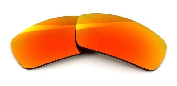 Lente Ruby P/ Oakley Badman Proteção Solar Uv + Brindes