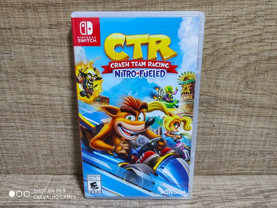 Crash Team Racing Nitro Fueled Nintendo Switch