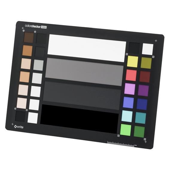 Colorchecker Video Calibrador De Color Msccvpr Negro X-rite